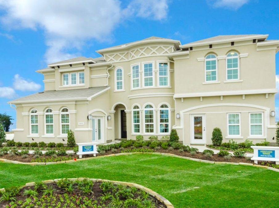 432 Carrington Collection Elevation B Model Home Exterior