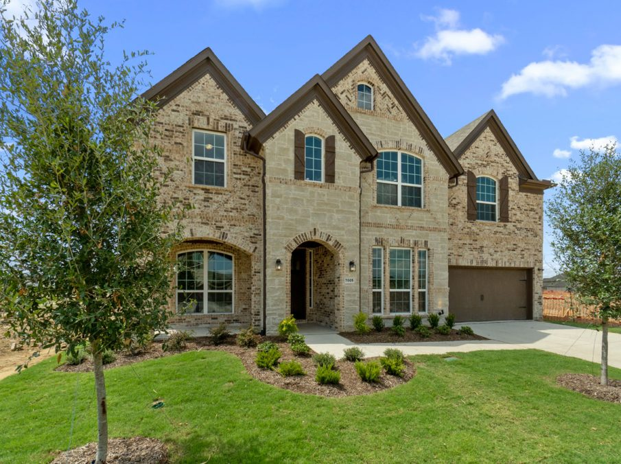 New Home Builder Landon Homes 5901 Southlake Exterior