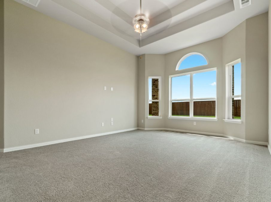 New Home Builder Landon Homes 5901 Southlake Master Bedroom