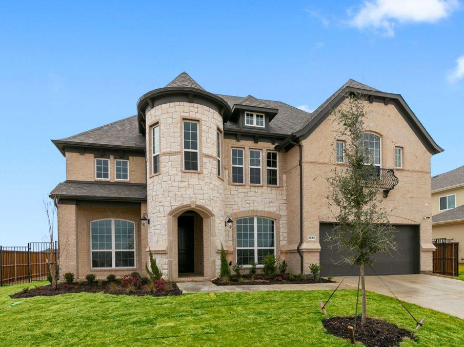 New Home Builder Landon Homes 600 Richmond Exterior