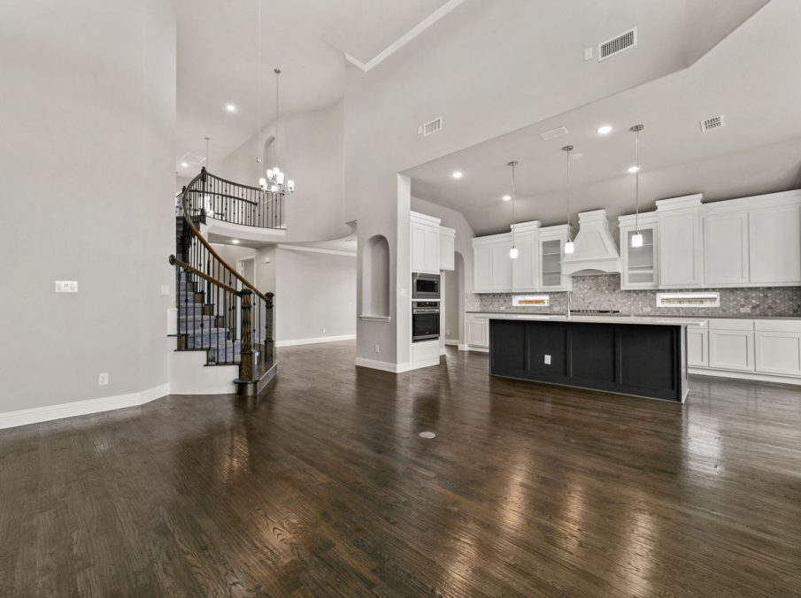 New Home Builder Landon Homes 600 Richmond Family Room