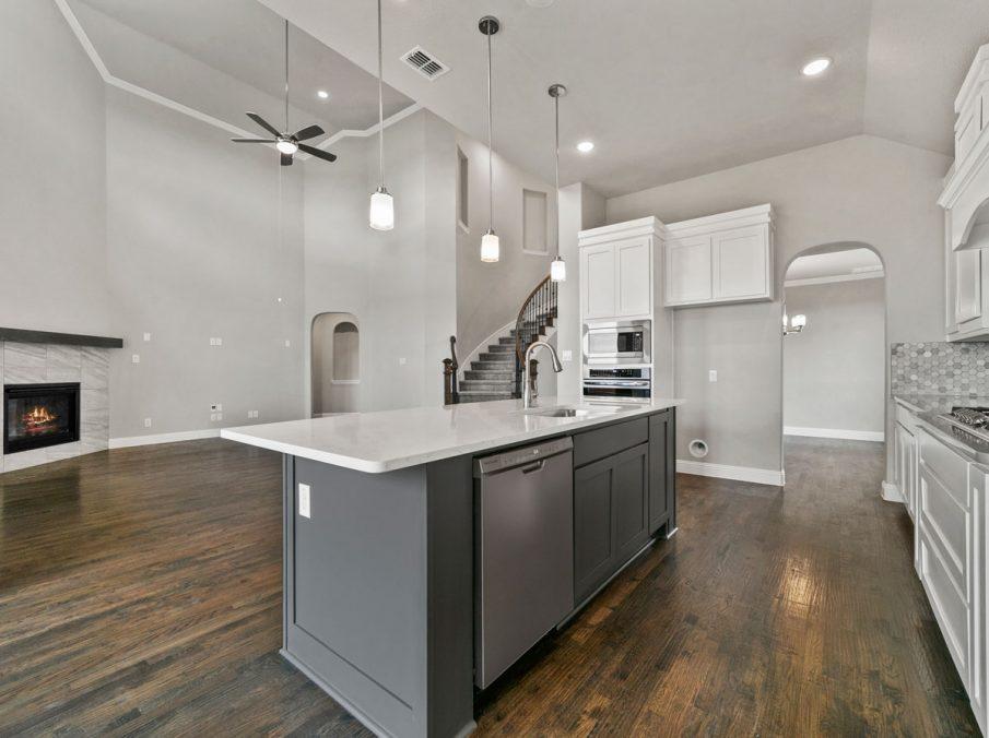 New Home Builder Landon Homes 600 Richmond Kicthen