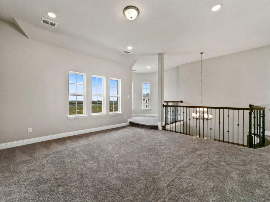 New Home Builder Landon Homes 600 Richmond Gameroom