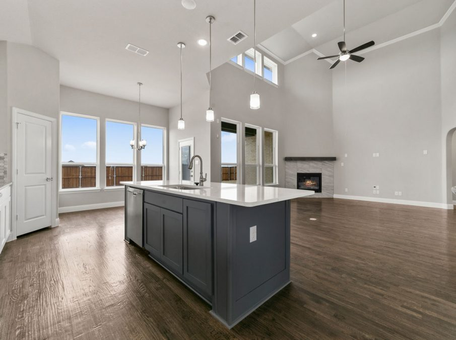 New Home Builder Landon Homes 600 Richmond Kitchen