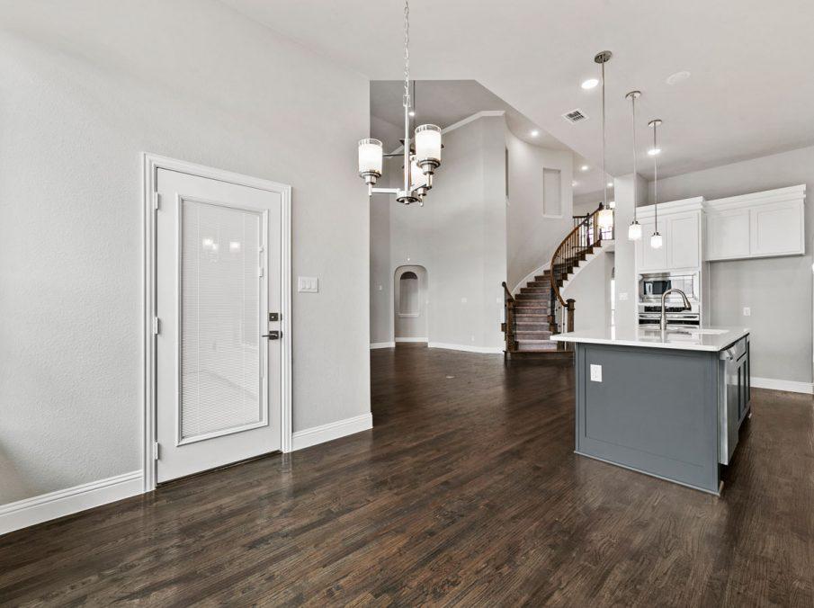New Home Builder Landon Homes 600 Richmond Breakfast Nook