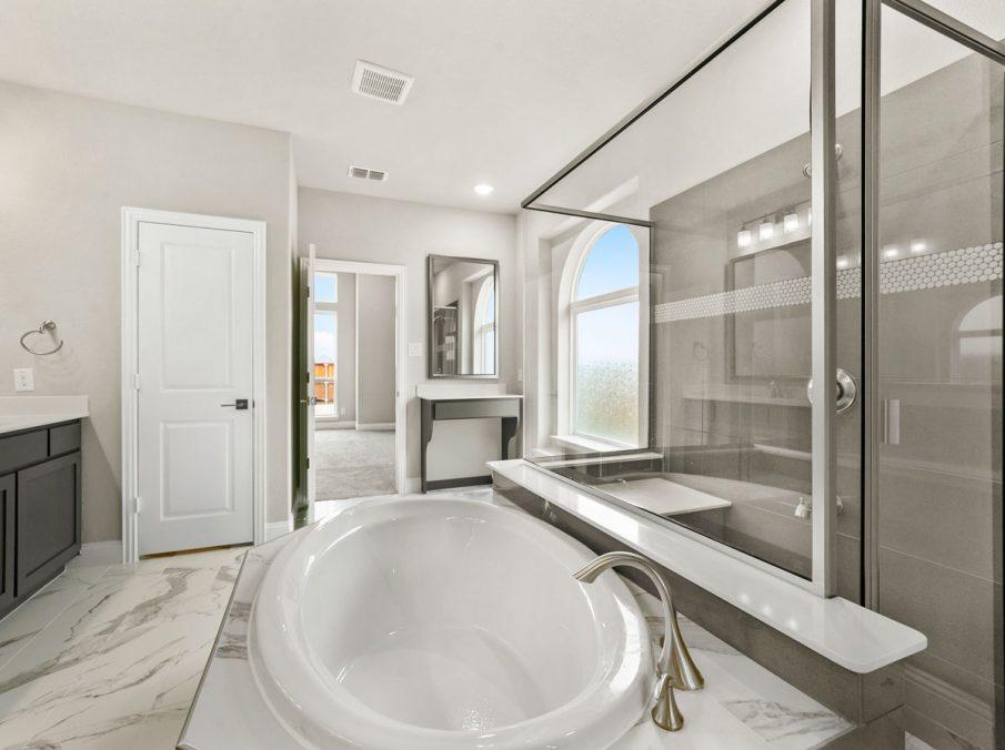 New Home Builder Landon Homes 600 Richmond Master Bathroom