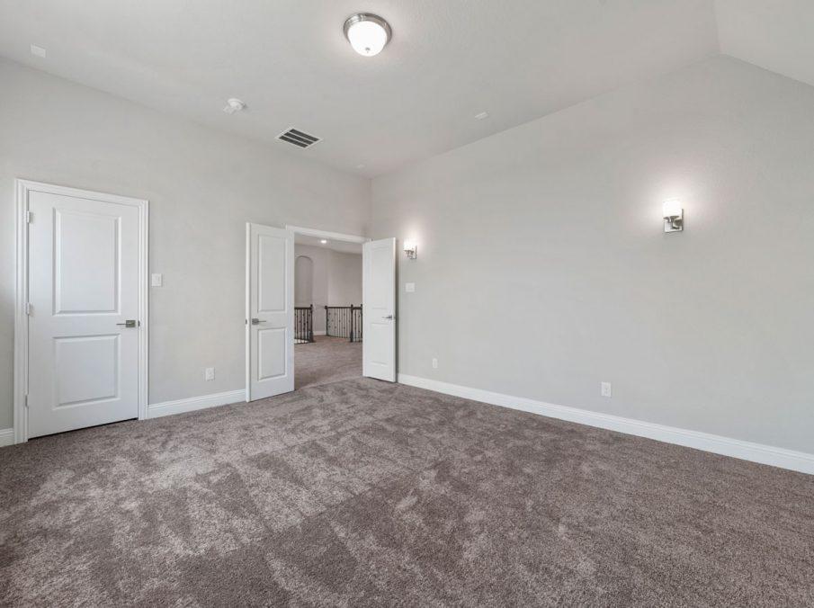 New Home Builder Landon Homes 600 Richmond Media Room