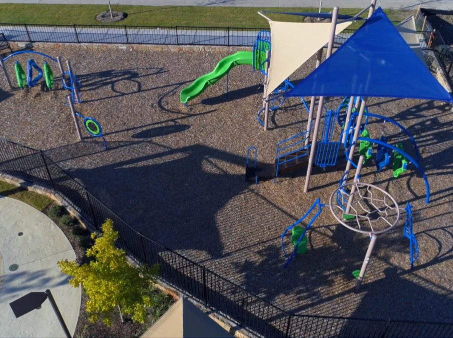 Landon Homes Lexington Country in Frisco, TX Amenity Center Park and Playground