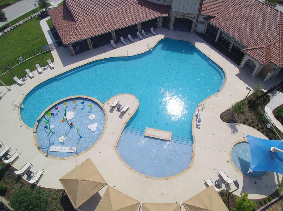 Landon Homes Lexington Country in Frisco, TX Amenity Center Pool