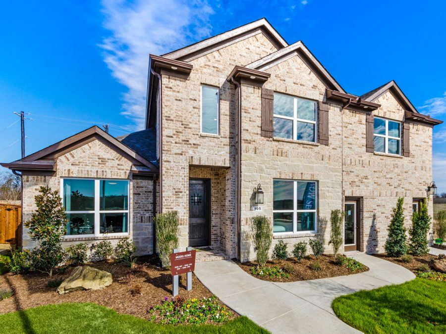 Landon Homes 5810 Sienna Model Argyle TX Exterior
