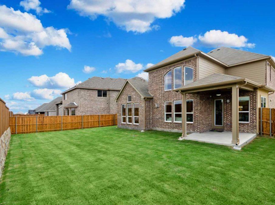 4655 Wellington Landon Homes Exterior and Backyard