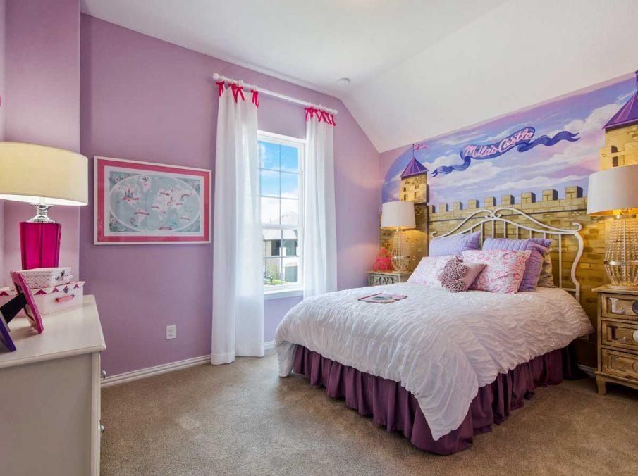 4655 Wellington Landon Homes Decorated Girls Bedroom Princess Theme