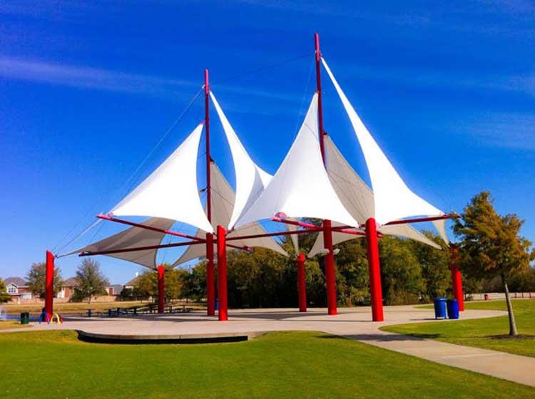 Local Park in Allen TX
