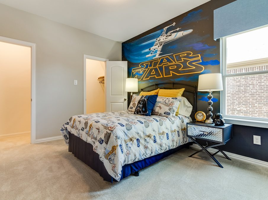 550 Hayden Star Wars Room