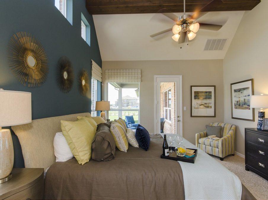 Landon Homes New Home Builder 185 Ridgecrest Master Bed