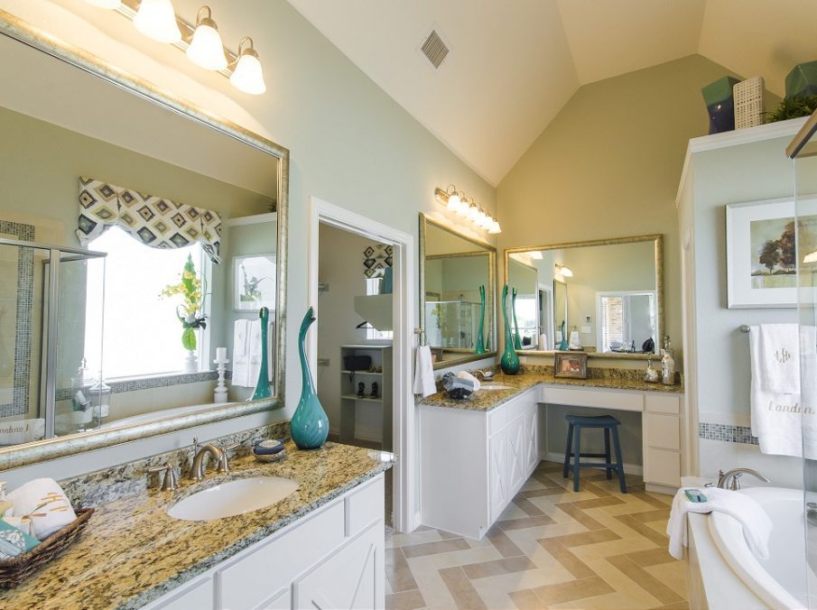 Landon Homes New Home Builder 185 Ridgecrest Master Bath