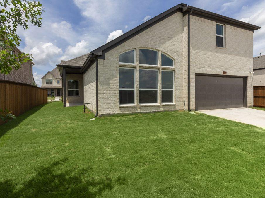 Landon Homes New Home Builder 185 Ridgecrest Backyard