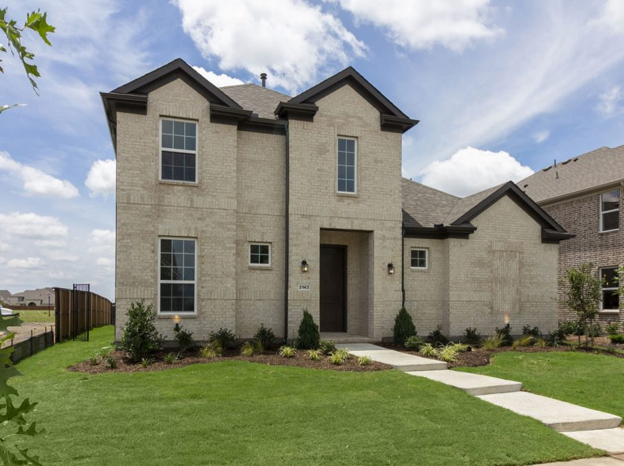 Landon Homes New Home Builder 185 Ridgecrest Exterior Brick