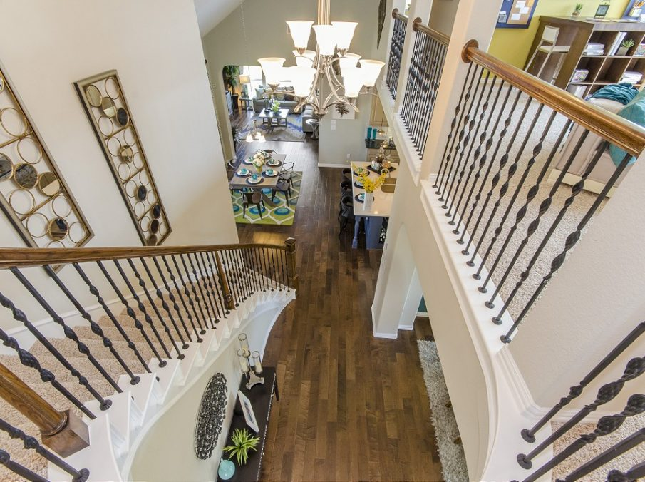 Landon Homes New Home Builder 185 Ridgecrest Staircase