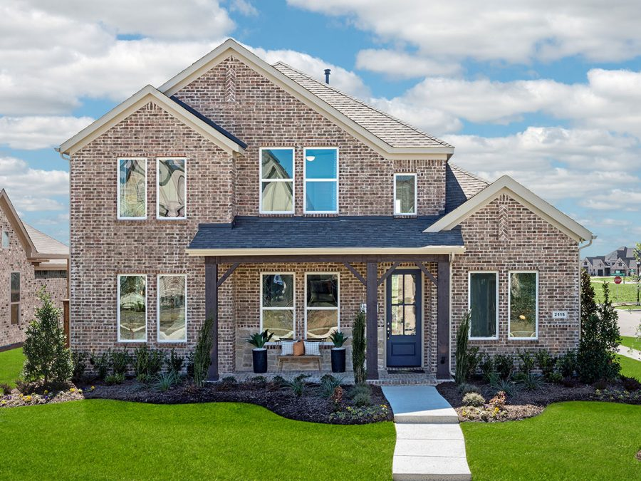 New Homes in Frisco TX at Hollyhock