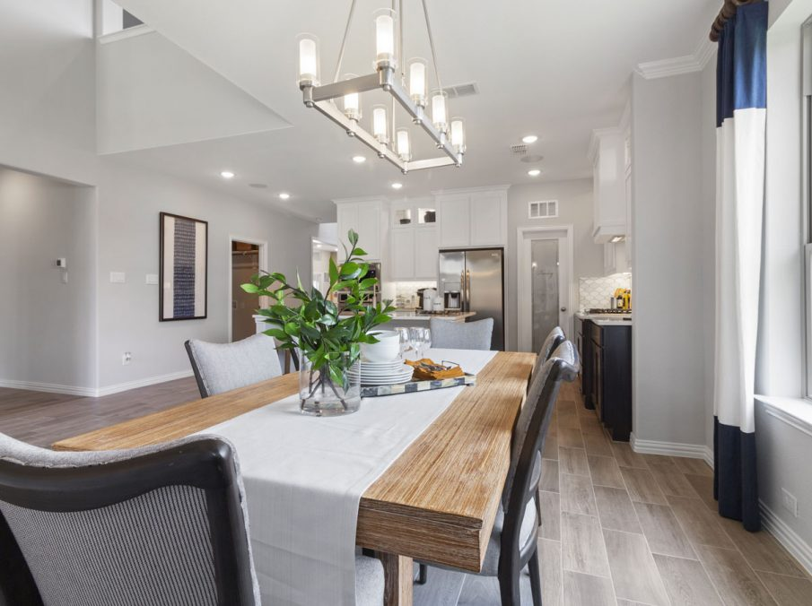 519 Bradley Collection by Landon Homes Breakfast Nook