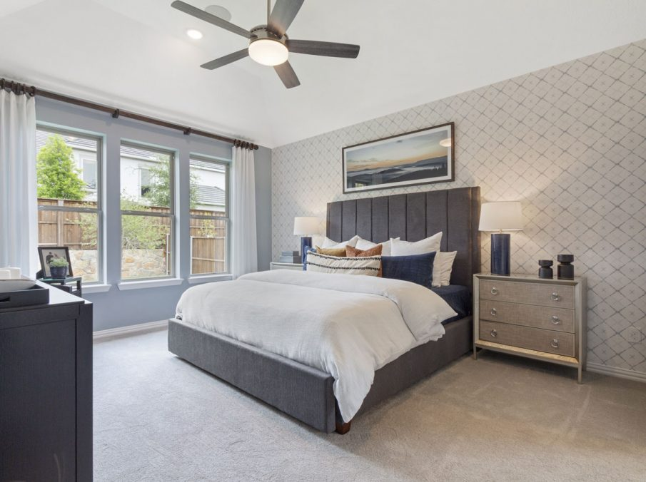 519 Bradley Collection by Landon Homes Master Bed