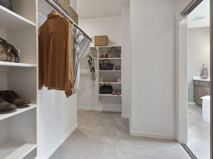 519 Bradley Collection by Landon Homes Master Closet