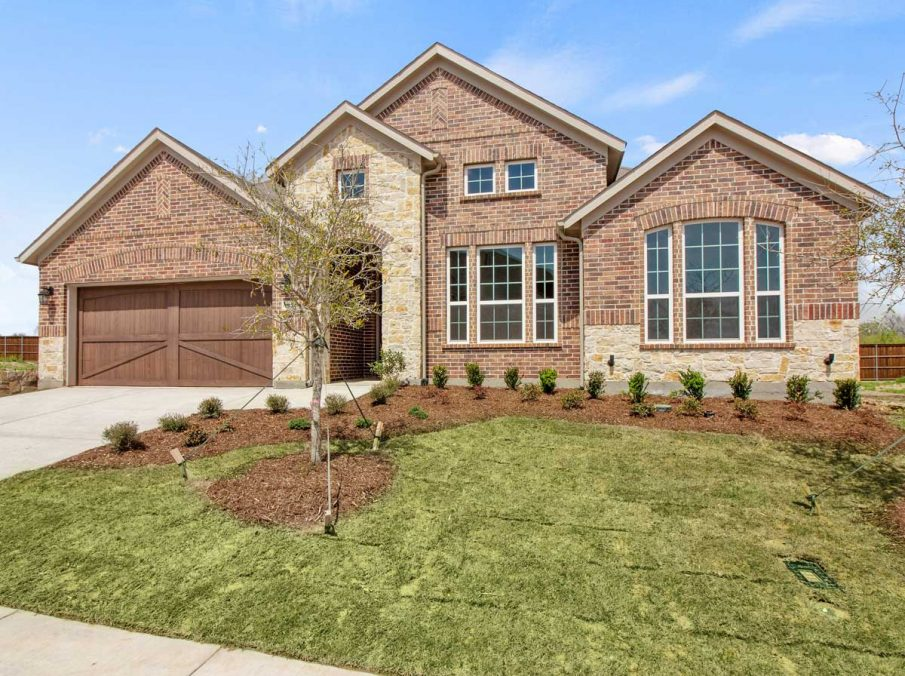 Landon Homes New Home Builder in Frisco, Allen, and Argyle TX 609 Bradford Collection Exterior