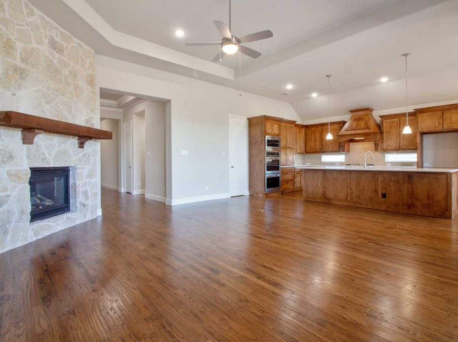 Landon Homes New Home Builder in Frisco, Allen, and Argyle TX 609 Bradford Collection Family Kitchen
