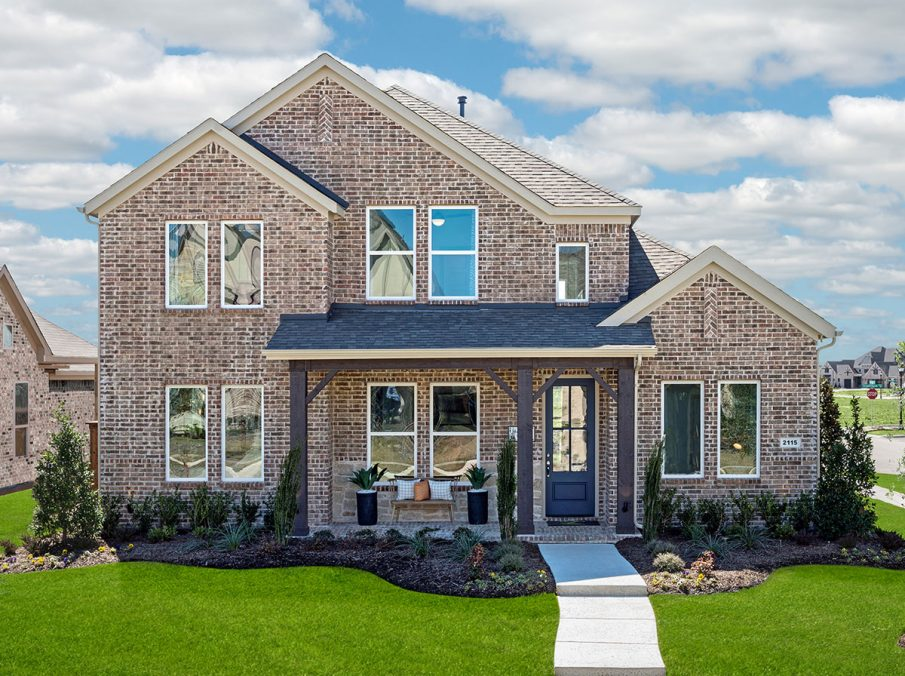 Homes in Frisco TX at Edgestone at Legacy
