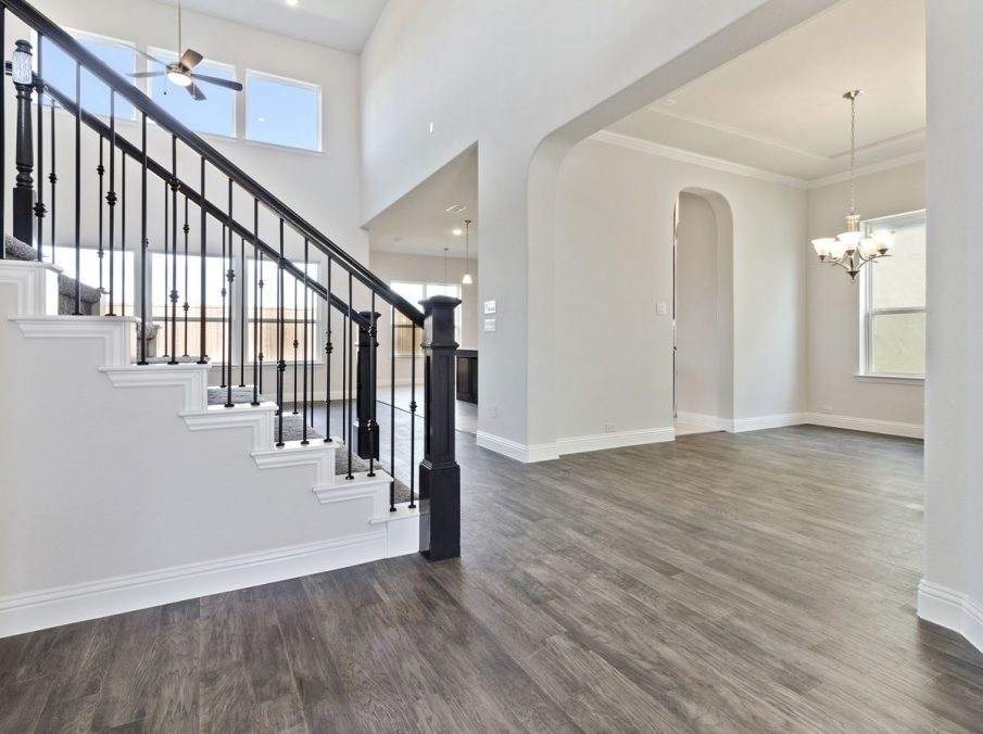 431 Alexandria Collection Landon Homes Dining and Stairs